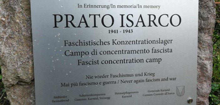 Gedenken an faschistisches KZ in Blumau