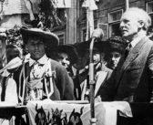Eduard Reut-Nicolussi nahm im Namen Südtirols Abschied von Österreich