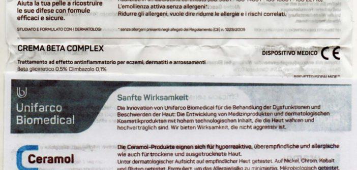 Medikamente: In Ligurien zweisprachig – In Süd-Tirol einsprachig