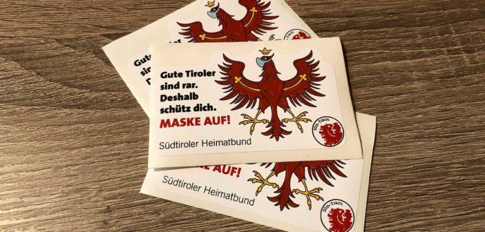 Heimatbund verteilt originelle Erinnerungskleber