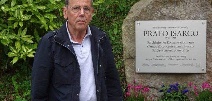 Welschtiroler Brückenbauer und Schriftsteller Giuseppe Matuella am 5. September in Blumau