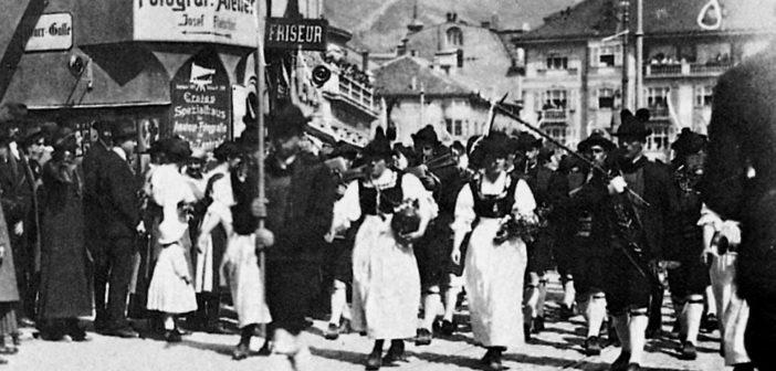 """Vor 100 Jahren: """"Bozner Blutsonntag"""" – schweres Unheil kündigte sich an"""