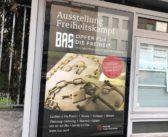 Neue Plakataktion: Handschellen bewerben Freiheitskampf