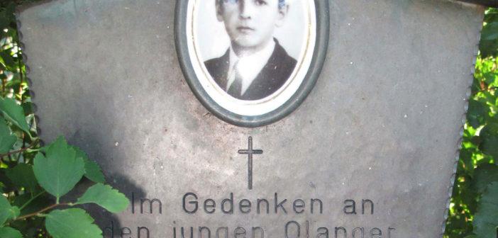 Peter Wieland: Gedenken an das vergessene Opfer einer Bluttat im Jahre 1966